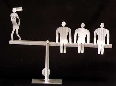 Equality Kinetic Sculpture